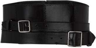 Alexander McQueen Leather Corset Belt
