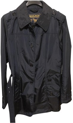 Woolrich Blue Trench Coat for Women