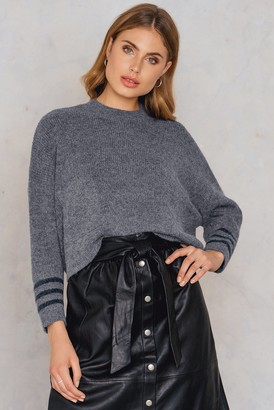 NA-KD Front Pockets Knitted Sweater