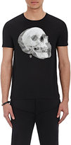 Alexander McQueen Men's Skull-Graphic T-Shirt-BLACK