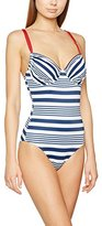 Rösch Women's Nautical Stripes C-Cup Swimsuit