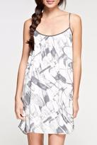 Love Stitch Lovestitch Printed Mini Dress