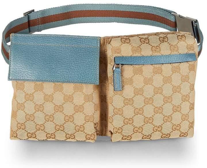 232e51f28c34 Gucci Canvas Belt Bag - ShopStyle