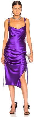 Galvan Yasmine Dress in Purple | FWRD