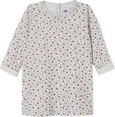 Petit Bateau Floral long sleeve dress 3-36 months