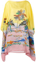 Emilio Pucci river print shift dress