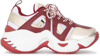 Emporio Armani Panelled Chunky Sneakers