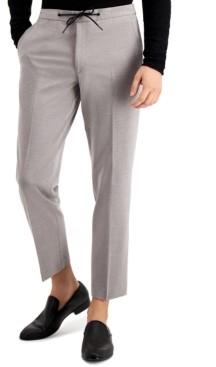 Bar III Men's Slim-Fit Drawstring Dress Pants, Created for Macy's