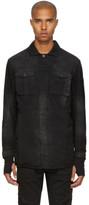 11 By Boris Bidjan Saberi Black Washed Army Shirt