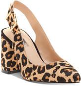 INC International Concepts Women's Taloo Block-Heel Slingback Pumps, Created for Macy's Women's Shoes
