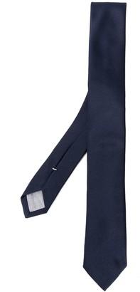 Eleventy Slim Silk Tie