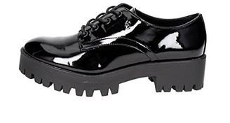 Armani Jeans Women's Chunky Patent Lace-Up Oxford