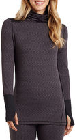 Cuddl Duds Flex Fit Long-Sleeve Turtleneck Shirt