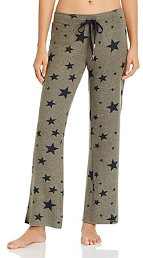 PJ Salvage Weekend Warrior Star Print Pants