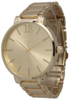 Olivia Pratt Women's Classic Stainless Steel Bracelet Boyfriend Watch