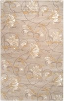Surya G44 Goa Transitional Hand Tufted 100% New Zealand Wool Beige Rug