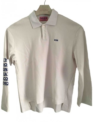Ader Error White Cotton Polo shirts