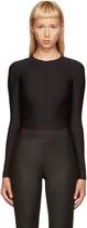 Ann Demeulemeester Black La Fille D'O Edition Bodysuit