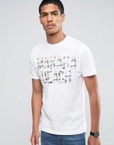 Celio Crew Neck T-shirt With Summer Vibe Print