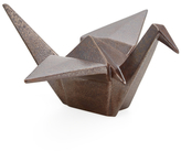 Global Views Large Origami Crane Ceramic Figure