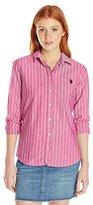 U.S. Polo Assn. Juniors' Pencil Stripe Long-Sleeve Woven Shirt