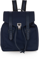 Proenza Schouler PS1 leather-trimmed nylon backpack