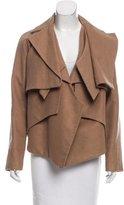 Nellie Partow Asymmetrical Long Sleeve Jacket