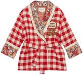 Gucci Children's check tweed jacket