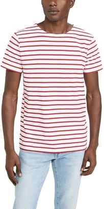 Armor Lux Short Sleeve Mariniere Hoedic Heritage T-Shirt