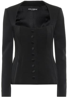 Dolce & Gabbana Satin jacket