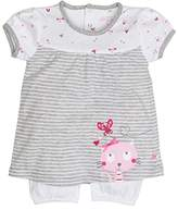 Salt&Pepper Salt & Pepper Baby Girls' NB Playsuit Sunshine Kurz Footies,0-3 Months