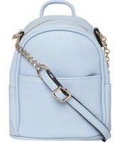 Dorothy Perkins Womens Blue Mini Backpack Cross Body Bag- Blue