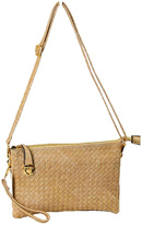 Empire Handbags Woven Satchel