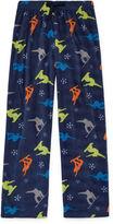 Arizona Microfleece Snowboard Pajama Pant- Boys 4-20, Husky