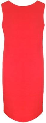 Haris Cotton Clio Sleeveless Dress Red