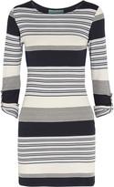 Melissa Odabash Maddie striped stretch-knit dress