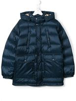 Burberry hooded padded jacket
