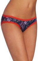 Natori Josie by Women's Fishnet and Lace Hippi Panty