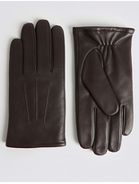 M&S Collection Leather Gloves with ThinsulateTM