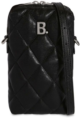 Balenciaga Bdot Quilted Leather Shoulder Bag