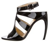 Walter Steiger Patent Caged Sandals