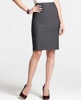 Ann Taylor Petite Tropical Wool Loire Pleat Back Skirt