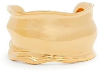 Bottega Veneta 18kt Gold-vermeil Bangle - Gold