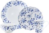 222 Fifth Sydney 16-Piece Dinnerware Set in Blue