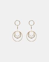 SABA Elise Drop Circle Earrings