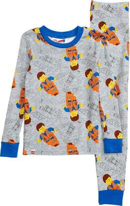 Lego Movie 2 Fitted Two-Piece Pajamas