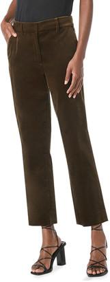 Frame Faithful Velvet Straight-Leg Pants