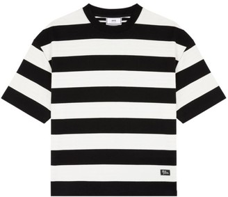 Ami Paris Oversized Striped T-Shirt