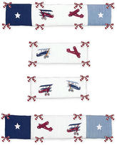 JoJo Designs Sweet Vintage Aviator Collection Crib Bumper