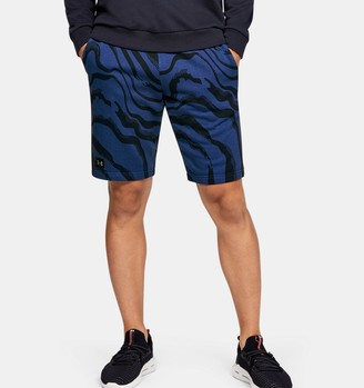 Under Armour Men's UA Speckled Fleece Printed Shorts